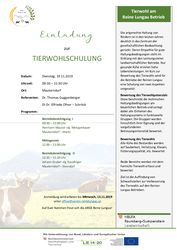 thumbnail of Einladung Tierwohlschulung 112019